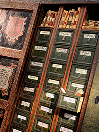 Centre d'interpretació del Renaixement, armari arxiu