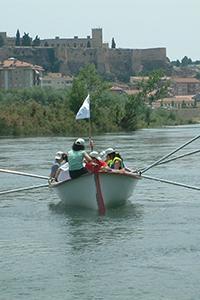 Muleta por el rio Ebro